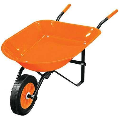 Carretilla para niños Truper 10440 naranja - 0