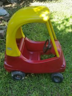 Auto americano para bebe no es a pedal