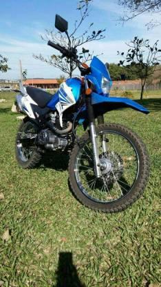 Moto Dakar 200 cc motocicleta Cross