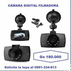 Camara filmadora para vehículo
