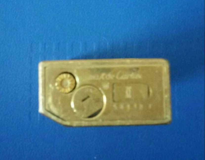 Encendedor Cartier enchapado en oro 18 kilates - 1