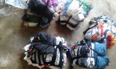 Fardos de ropas