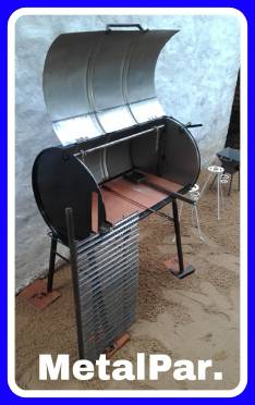 Parrilla tambor para asado