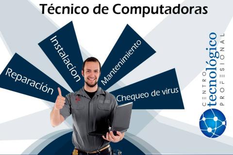 Servicio Técnico de Computadoras de mesa, Notebook e Impresoras