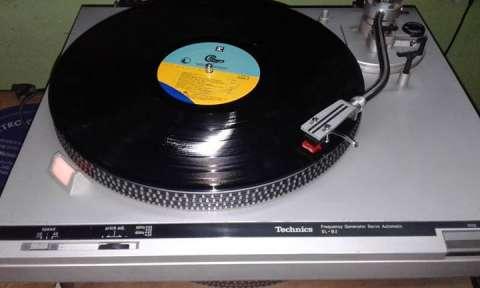 Tocadisco Technics SLB2 Cassetero