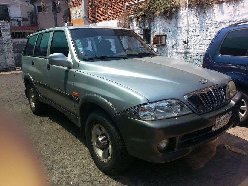 Daewoo Musso 2001 diésel automático - 0