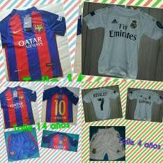 Conjuntos de fútbol para niños