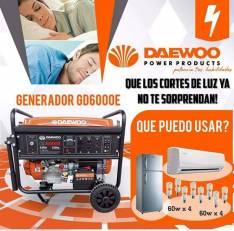 Generador Daewoo 6.2 KVA