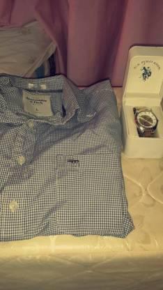 Camisa Abercrombie y reloj Polo