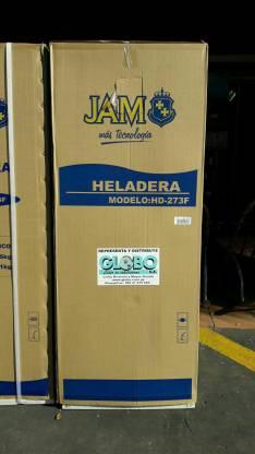 Heladera Jam 300 litros 2 puertas