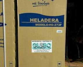 Heladera Jam color blanco 300 litros 2 puertas
