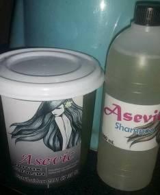 Botox capilar y shampoo neutro