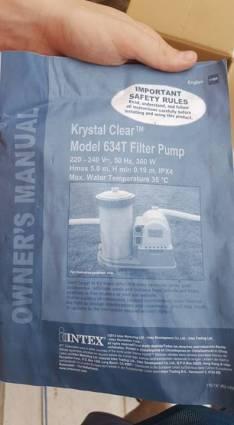Filtro de 9.000 litros/ hora