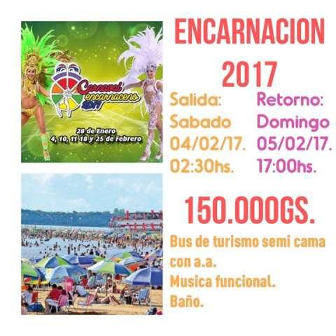 Paseo a Encarnacion 2017