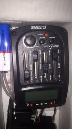 Microfono con afinador para guitarra