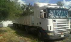 Scania 124-400 con carreta 14,50 metros