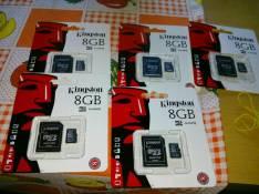 Memory SD de 8 gb Kingston