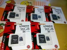 Memory SD de 16 gb Kingston