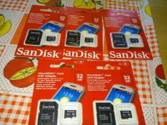 Memory SD de 32 gb Kingston