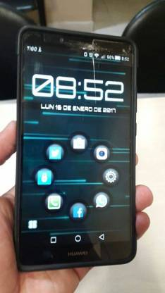 Huawei Mate 7 LTE fisurado