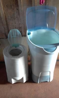 Lavarropas y centrifugadora