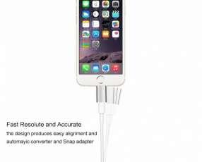 Adaptador Magnetico para Cargador de Celulares Android y Iphone