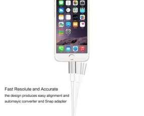 Adaptador Magnético para Cargador de Celulares Android y Iphone