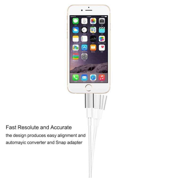 Adaptador Magnético para Cargador de Celulares Android y Iphone - 0