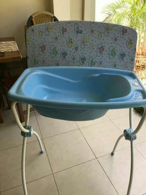 Bañera y cambiador para bebés
