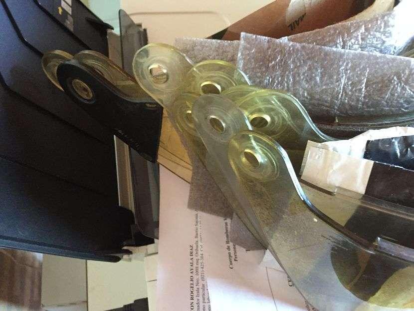Visores/protector facial para cascos Bullard/Cairns/Cronwell - 3