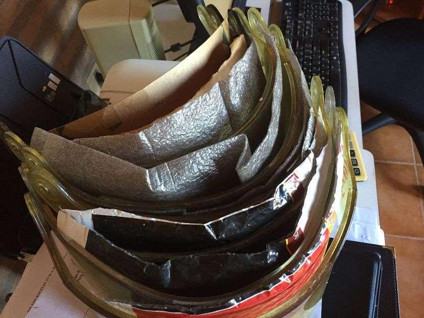 Visores/protector facial para cascos Bullard/Cairns/Cronwell - 2