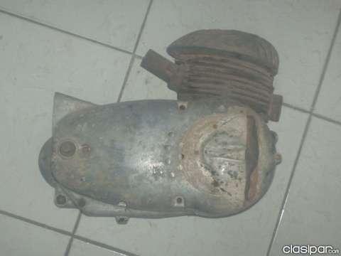 Motor de Zanella 100cc, 3 cambios a restaurar