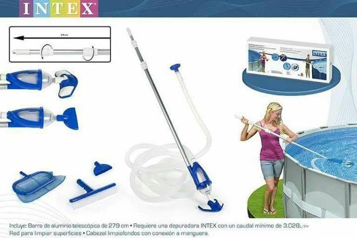 Kit de limpieza para piscinas al an comercial for Limpieza de piscinas