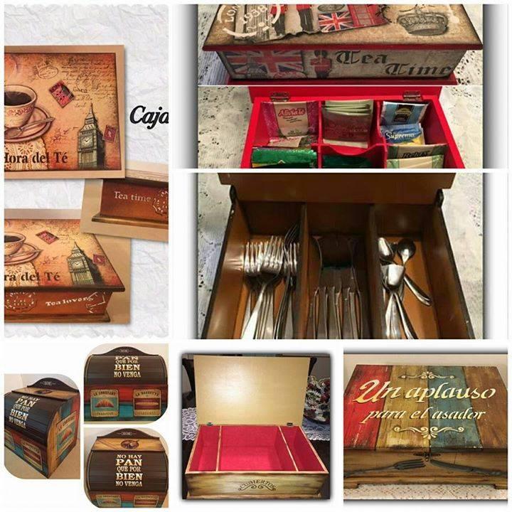Paneras cajas para guardar cubiertos cajas para guardar - Cajas para guardar herramientas ...