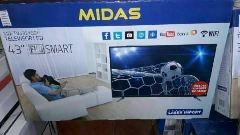 Tv led smart Midas 43 pulgadas - 0