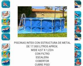 Piscinas Intex de 16.805 litros