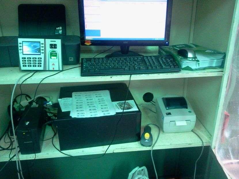 Reloj biométrico - 2