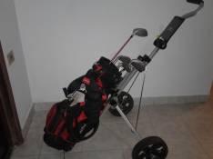 Palos de Golf con carrito