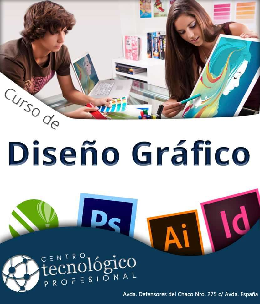 Curso Diseño Gráfico Profesional