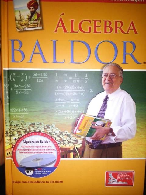 Libro Baldor de álgebra aritmética y trigo-geo