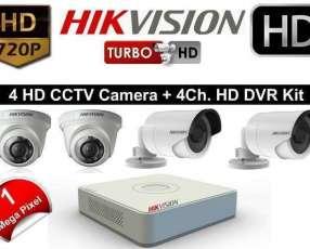 Instalación de cámaras de vigilancia Hikvision