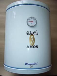 Termocalefon Manchini de 80 litros nuevo con garantía de 3 años