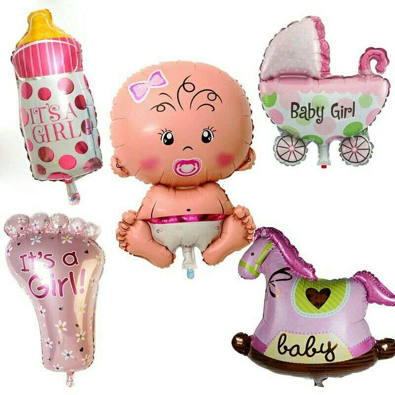Globos Decorativos para Baby Shower - 0