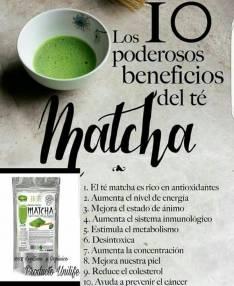 Té Verde Matcha Producto Adelgazante