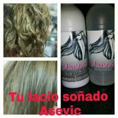 Shampoo y acondicionador Asevic para cabello