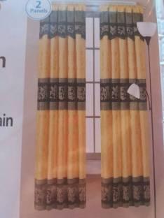Cortina dobles con fibra de coco y flecos
