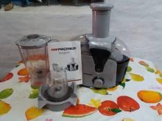 Extractor de Jugo con licuadora Premier