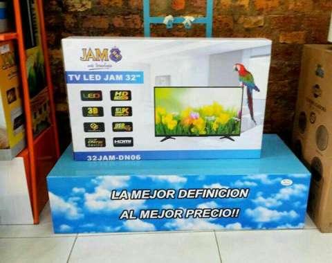 Tv Led JAM de 32 pulgadas HD