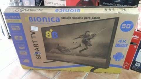 TV LED Smart 4k biónica de 50 pulgadas - 0