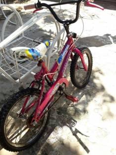 Bicicleta para nena aro 16 Milano Fiorenza